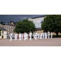 Utomhuskonsert med Marinens Musikkår
