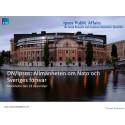 DN/Ipsos: Allmänheten om Nato och Sveriges försvar - Ökat stöd för svenskt Nato-medlemskap