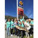 Fiskeburgere fra Lofoten på Statoil