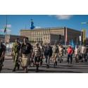 Stockholmare går med i Veteranmarschen