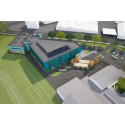 Royal Navy College construction forges ahead