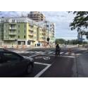 Nya cykelfält på Östgötagatan
