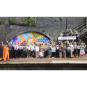 Sandwell College students celebrate local culture at Smethwick Rolfe Street station