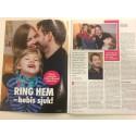 Reportage om familjen Nordmark i tidningen Allers nr.21