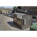 Automatisk miljöstation tar hand om farligt avfall i Stockholm