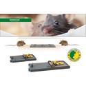 Hygieniska och effektiva slagfällor mot möss och råttor