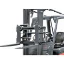 """Nya gaffelspridnings- och sidoförskjutningsaggregatet """"View"""" från Linde Material Handling"""