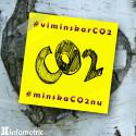 Infometric uppmanar: #viminskarCO2 #minskaCO2nu