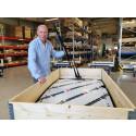 Hammerglass står redo för Norges tuffare krav på okrossbart i entreprenadmaskiner