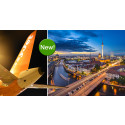 More air traffic with easyJet from Stockholm Arlanda Airport to Berlin