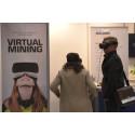Virtual mining på Euro Mine Expo 2018