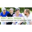 Hjälpmedelsdagen firas 23 september med aktiviteter i hela länet