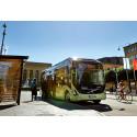 Stor skillnad för hälsa  och samhällsnytta mellan diesel- och andra bussar