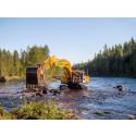 124 miljoner kronor till restaurering av älvar i Norrbotten och Västerbotten