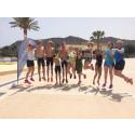 Full fart på nya Youth Tri Camp på Playitas