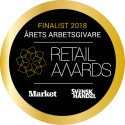 Synoptik finalist till utmärkelsen Årets arbetsgivare i Retail Awards 2018