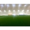 Fullstor övertryckshall för fotboll i Piteå