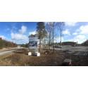 Start för bostadsbyggande i Hossaberget