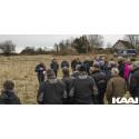 Første spadestik til 24 nye boliger i Gandrup