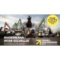 Sveriges nya maskinmässa på Solvalla