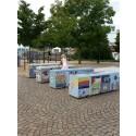 Centro hjälper till att bygga broar av mosaik i Göteborg