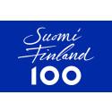 Lidköpings kommun flaggar idag för att hedra Finland som fyller 100 år