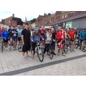 Mayor gets on her bike for the Tour de Bury