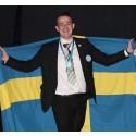 Andreas Sjöberg från Örnsköldsvik har tagit silver i EuroSkills