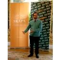 Usman Haider, tilldelades Skapapriset för sin innovation Exoskeleton