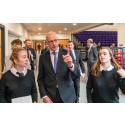 Deputy First Minister John Swinney MSP opens Elgin High