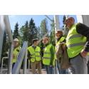Riksdagsledamot besökte biogasanläggningen