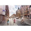 Lyft för 3000 cyklister i Lund