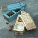 Återvunnen låda för smått - fair trade