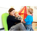 Selvhjulpne barn gir god ergonomi
