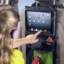 iPadhållare till bilen med smarta fickor