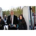 Åpning av Norges første fyllestasjon for flytende biogass