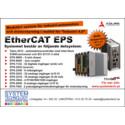 """Ett modulärt EtherCAT-system för industriautomation och motorstyrning i realtid för """"Industri 4.0"""""""