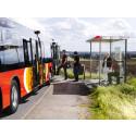 ÖstgötaTrafiken förbättrar reseinformationen i Östergötland med IoT-teknik från Fältcom