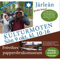 Kulturmöten genom utflykt till Järleån och Frövifors pappersbruksmuseum