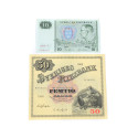 Mynt 6/9, Nr: 255, SEDLAR, 87 st 5 Kr 1940-1963, 27 st 10 Kr 1937-1968, 1 st 50 Kr 1962