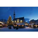 En sagolik julmarknad i Tallinn