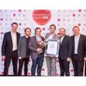 Viasat vant prisen for Årets kundeservice 2015 innen TV-signaler