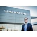 Jaguar Land Rover i Skandinavien stärks markant