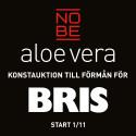 NOBE aloe vera startar konstauktion till förmån för Bris