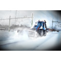 Trafikverket och Infranords satsning på snöröjning ger stororder till entreprenadföretag att hålla perronger och järnväg rena från snö och is