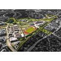 Täby kommun bjuder in till arkitekttävling för Tibble-Åvatriangeln