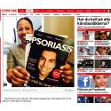 Psoriasis hett både i politiken och sociala medier