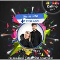 Norma Johns ja muita pohjoismaisia Eurovision-artisteja Israeliin promootiokiertueelle!