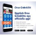 Orsa Grönklitt lanserar en ny app.