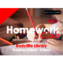 Homework Club at Radcliffe Library